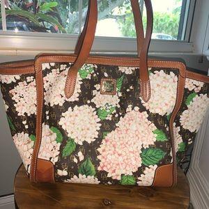 Dooney & Bourke Signature Hydrangea Large Handbag